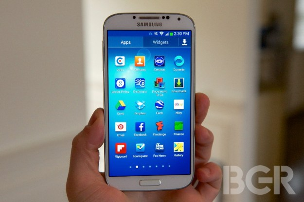16GB Galaxy S4 Internal Storage