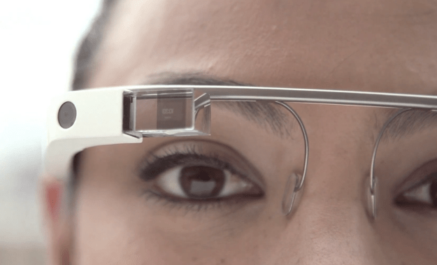 Google Glass wink application