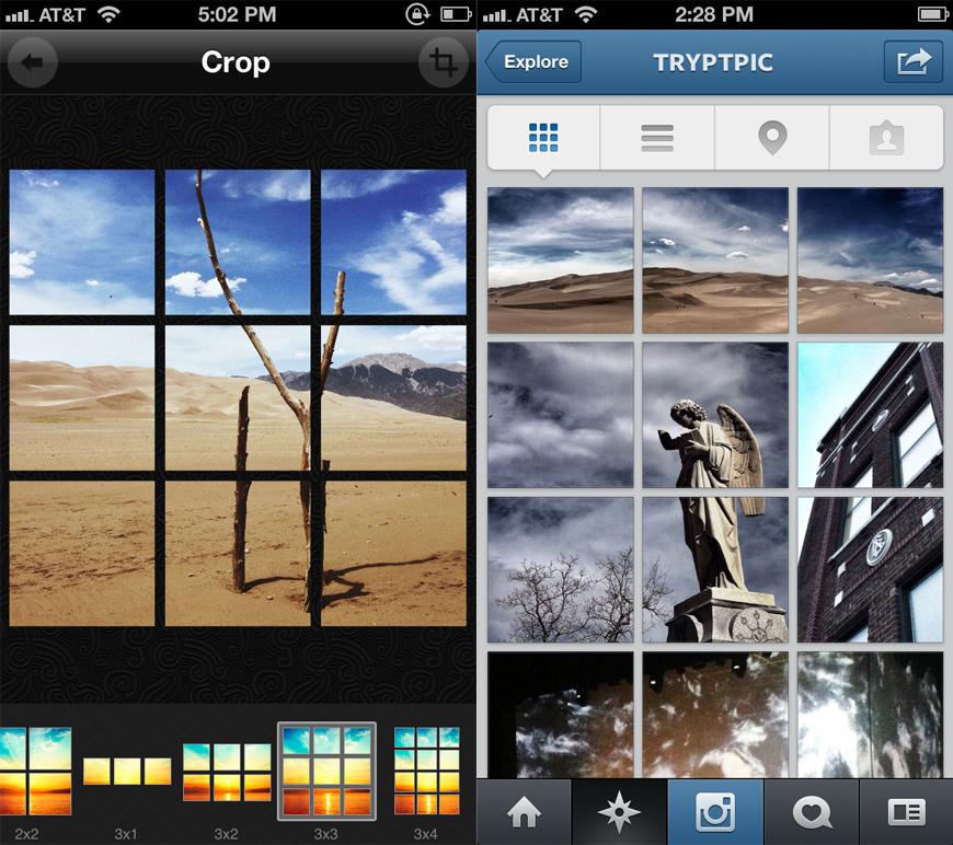 TRYPTpic Instagram Companion App