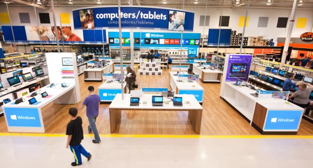 Best Buy Microsoft Windows Store