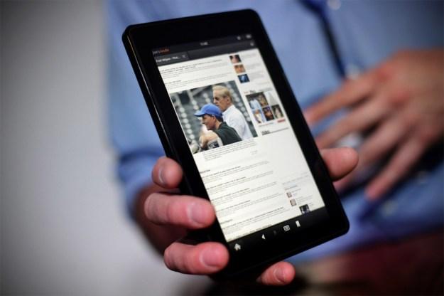 Kindle Fire HD 8.9 Benchmarks