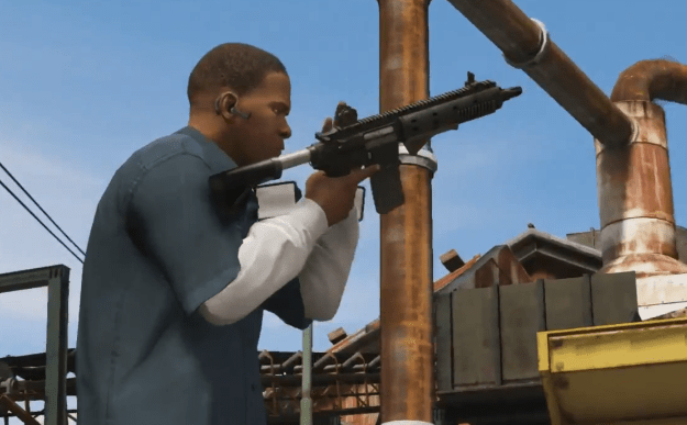 Grand Theft Auto V Gameplay Trailer