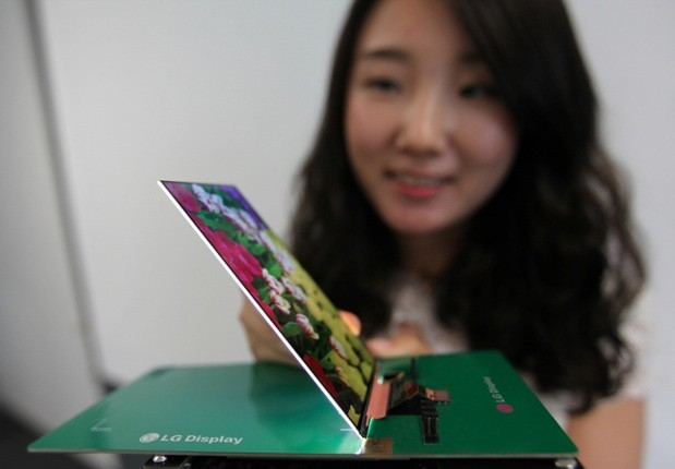 LG Thinnest HD LCD Smartphone Panel