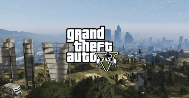 Grand Theft Auto V Time-Lapse