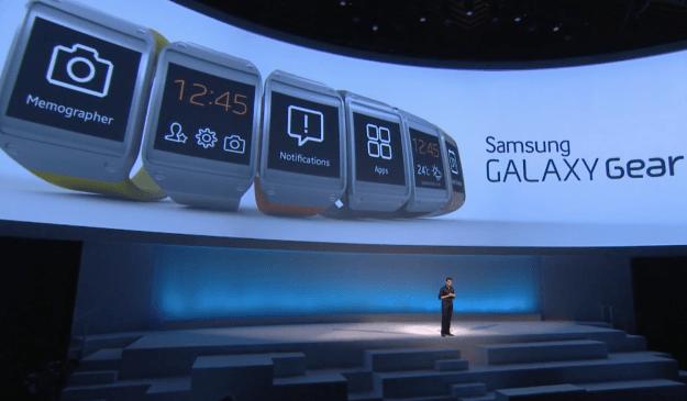 Samsung Galaxy Gear Apps
