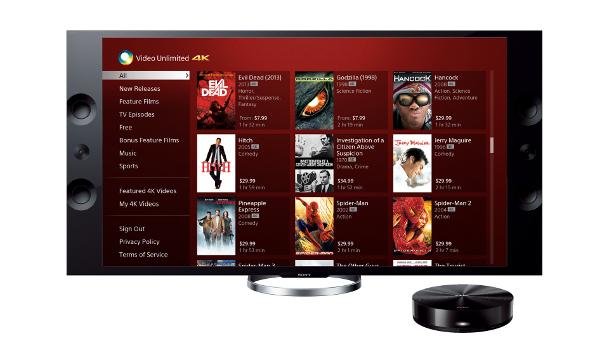 Sony 4K Video Store
