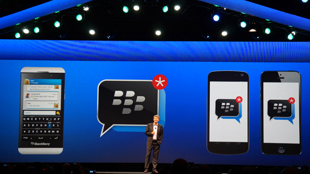 BBM Android iPhone 20 Million Users