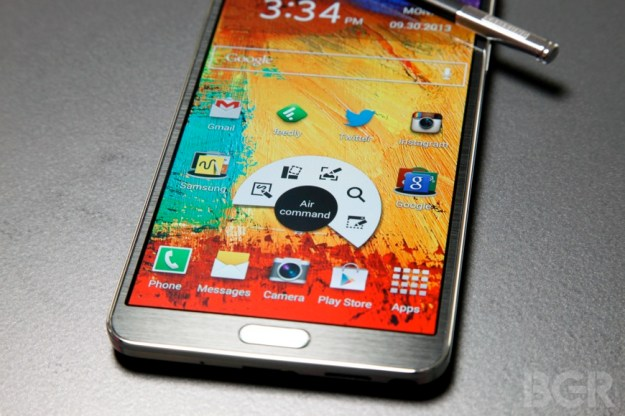 Galaxy Note 3 Review Software