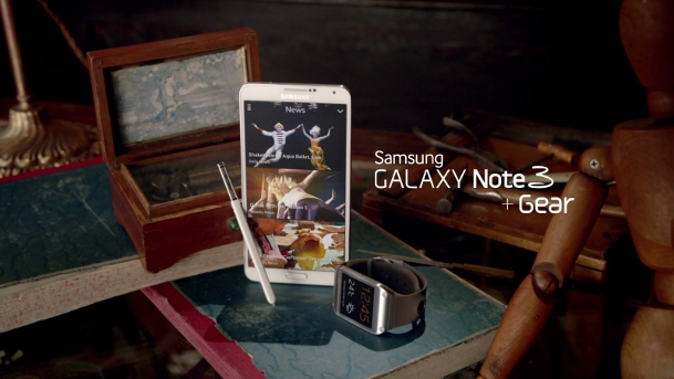 Samsung Galaxy Note 3 Commercial