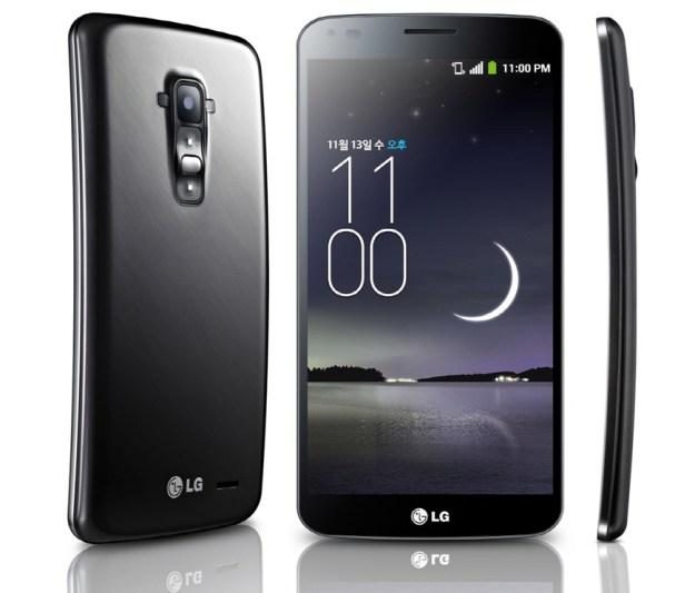 LG G Flex Launch