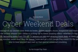 Google Play store deals