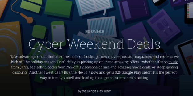 Google Play store deals