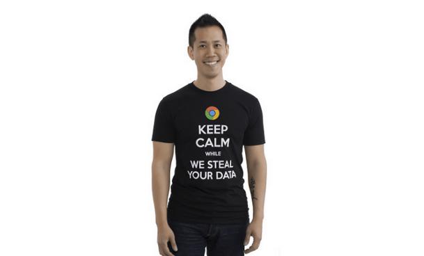 Google Microsoft Scroogled T-Shirt Response
