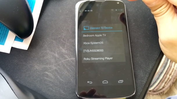 AllCast Android Stream Personal Videos