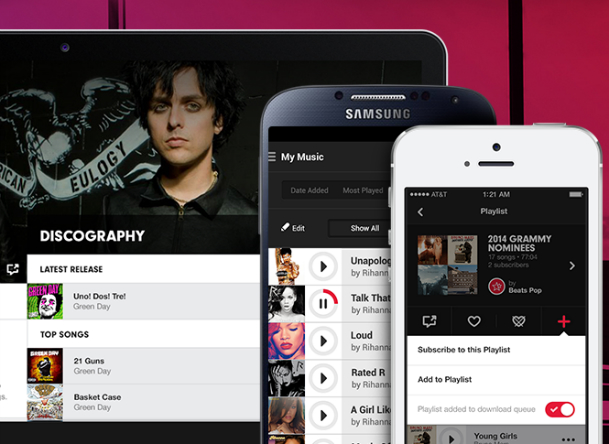 Apple Beats Music Subscribers