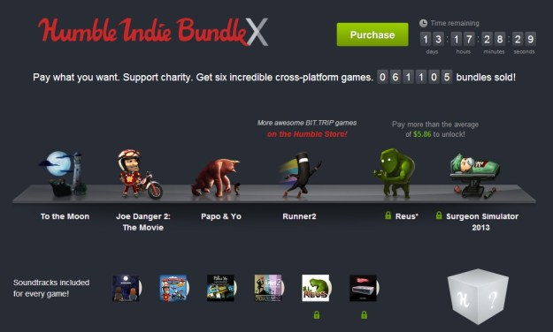 Humble Indie Bundle X Game Sale