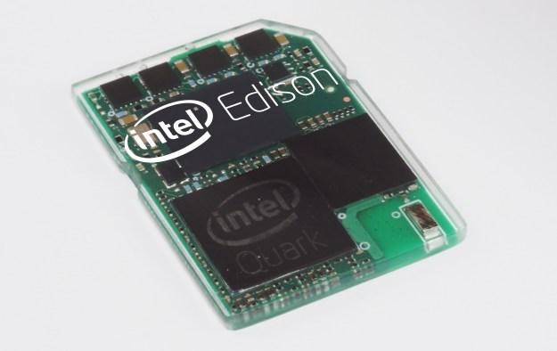 Intel Edison SD Card Computer