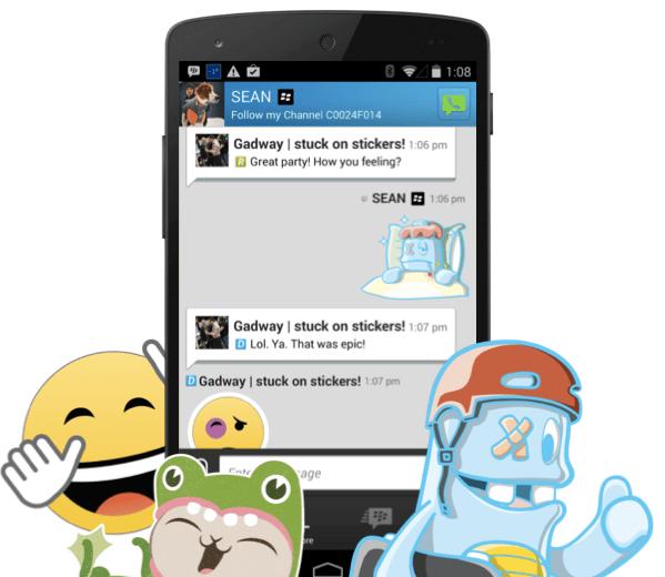BlackBerry Messenger In-App Purchase