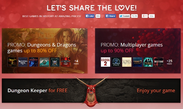 GOG.com Free Dungeon Keeper