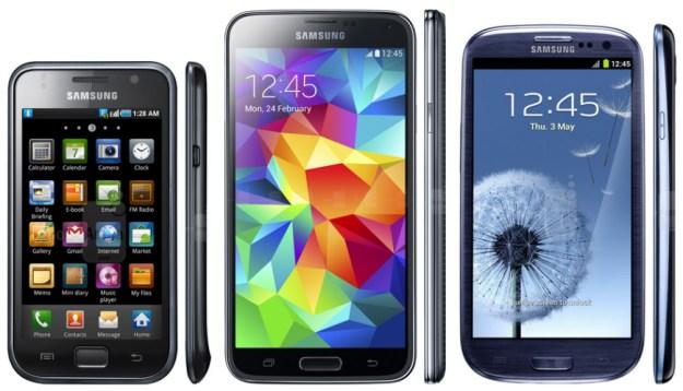 Galaxy S5 Specs Infographic
