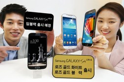 Galaxy S4 Gold Black
