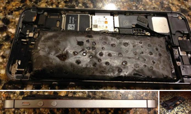 Exploding iPhone 5s Photos