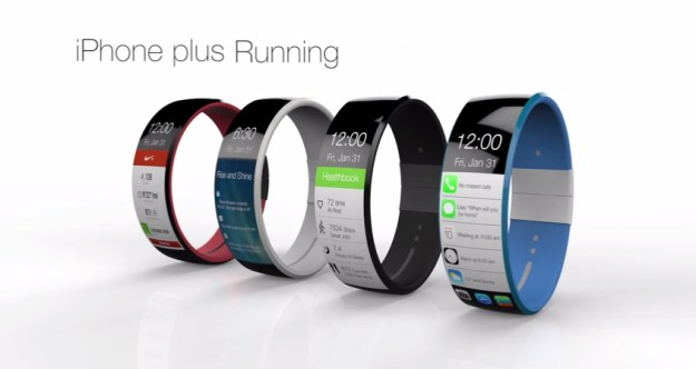 iWatch Concept iOS 8 Software Features