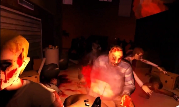 Oculus Rift Zombie Fort Game