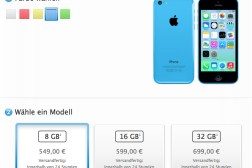 8GB iPhone 5c Launch Price