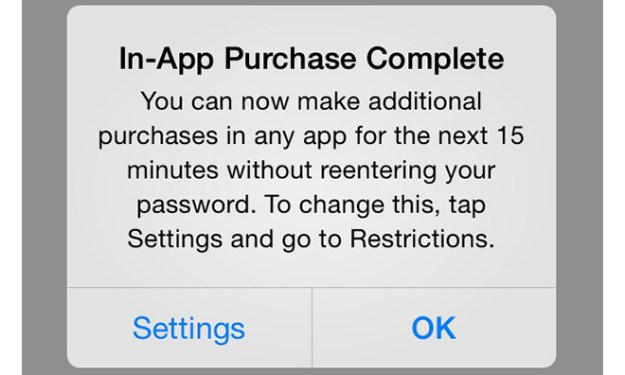 iOS 7.1 Features In-App Purchases