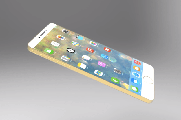 iPhone 6 Concept Gold