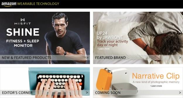 Amazon Wearable Technology Store