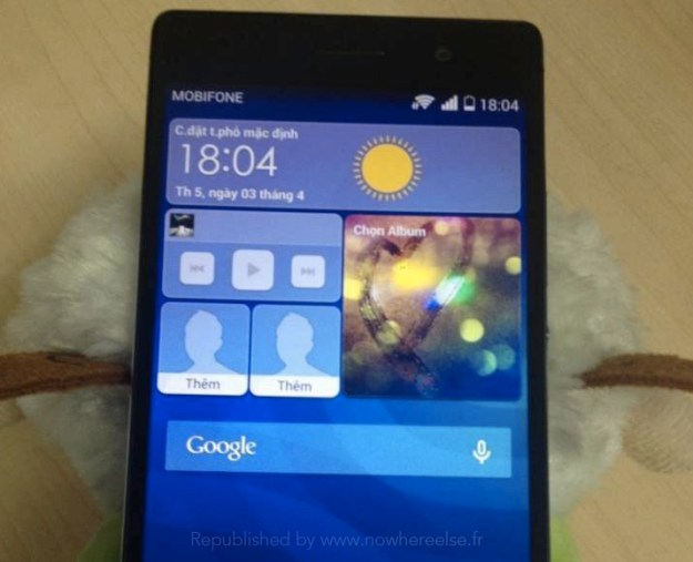 Huawei Ascend P7 Photos Leak