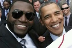 Obama Big Papi Selfie