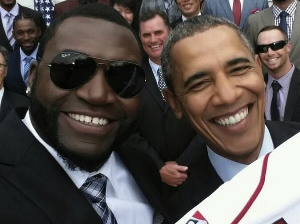 Samsung Ortiz Obama Selfie