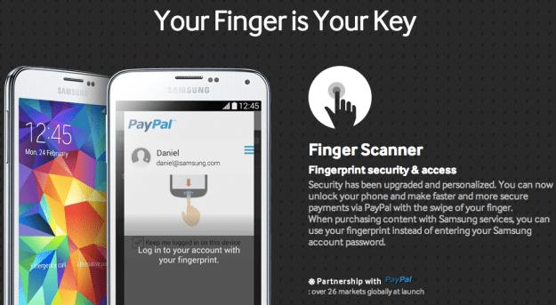 iPhone 5s Vs. Galaxy S5 Fingerprint Scanner