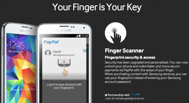 iPhone 5s Vs. Galaxy S5 Fingerprint Scanner