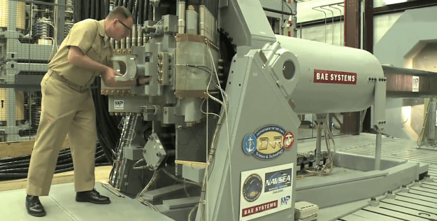 U.S. Navy Railgun Video
