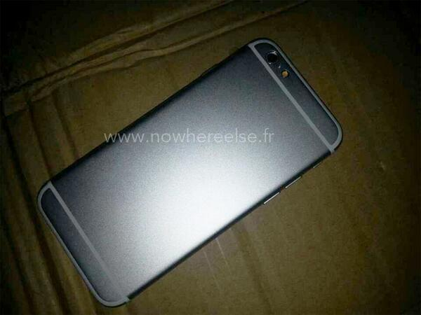 iPhone 6 Space Gray Leak