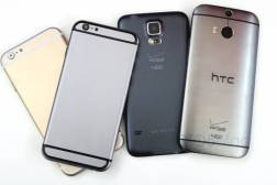 iPhone 6 vs Galaxy S5 vs HTC One (M8)