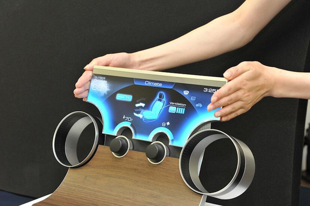 Sharp Free-Form Displays