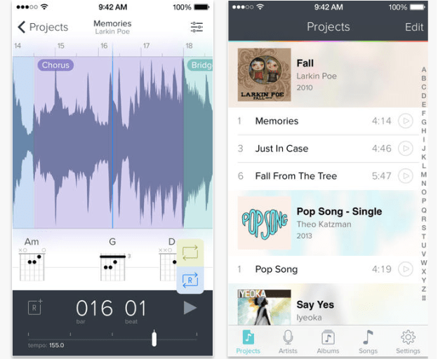 Best iOS Apps Capo touch