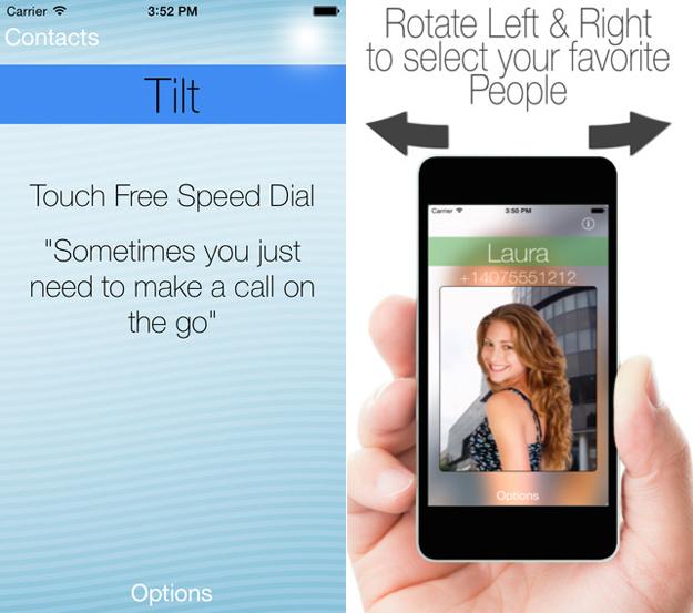 iPhone Tilt Gestures