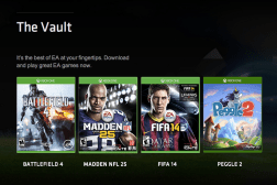 EA Access Games Library