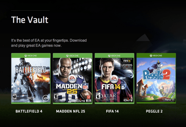 EA Access Xbox One Subscription