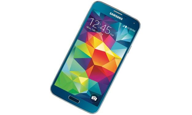Best Buy Electric Blue Galaxy S5