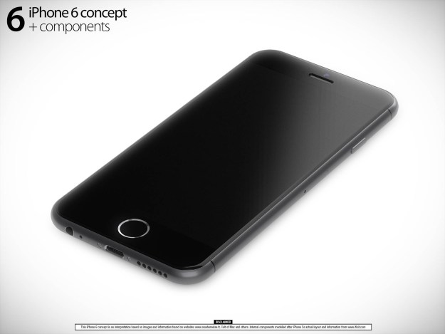 Beautiful iPhone 6 Renders