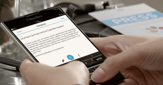 BlackBerry Only Releasing Android 2016