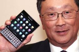 BlackBerry CEO Chen Compensation $3.4 Million
