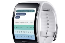 Gear S Fleksy Keyboard